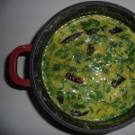 KERALA MURINGAYILA PARIPPU CURRY – DRUMSTICK LEAVES DAL CURRY