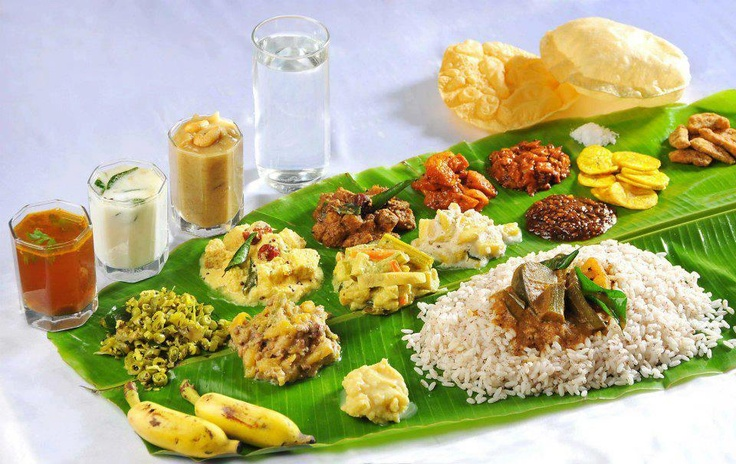 Onam sadhya recipes kerala sadhya recipes for Authentic south indian cuisine