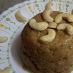 BREAD HALWA – HOW TO PREPARE BREAD HALWA WITH ALMOND PASTE