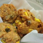 SWEET CORN WITH CHANNA DAL VADA